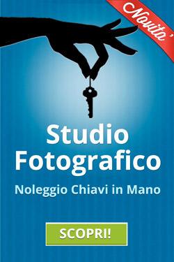Noleggio studio Fotografico