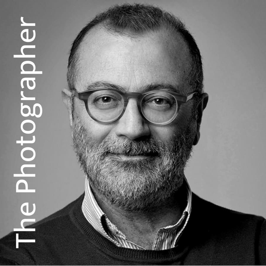 Famous photographer in rome