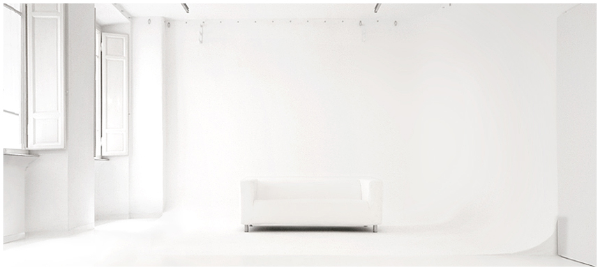 Studio fotografico a roma con limbo bianco