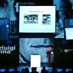 La Presentazione della campagna pubblicitaria Simobil