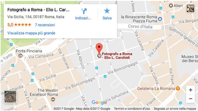 Studio Fotografico Via Sicilia a Roma