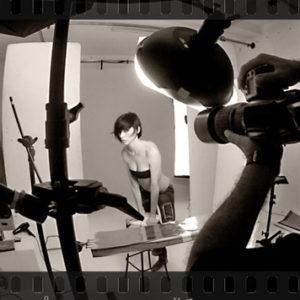 Backstage ritratto fotografico