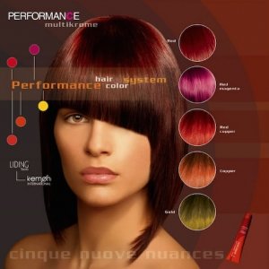 Performance Color Advertising Campaign