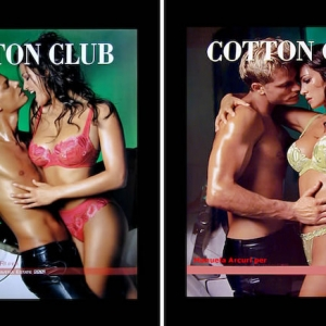 Manuela Arcuri for Cotton Club