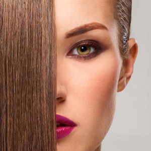 Fotografie per hairstyles e beauty