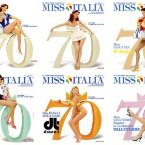 Miss Italia, Fotografie per Manifesti