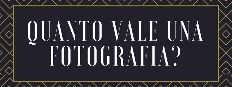 Quanto vale una fotografia