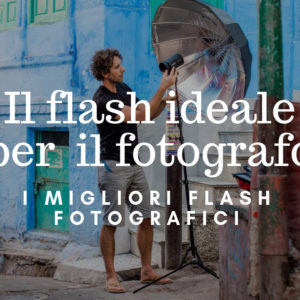 flash fotografici professionali
