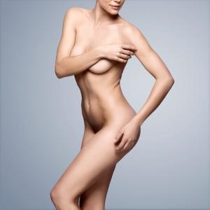 Foto di nudo healt care per cura del corpo