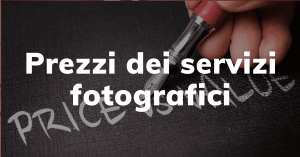 Prezzi Servizi Fotografici Roma