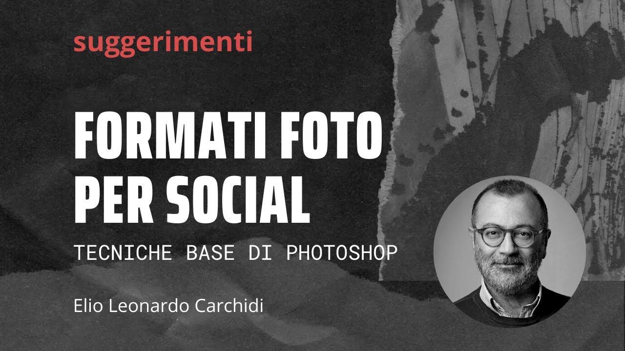 Immagini social con photoshop