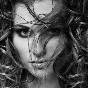 fotografie fotografo famoso roma Ritratto bianco e nero di donna